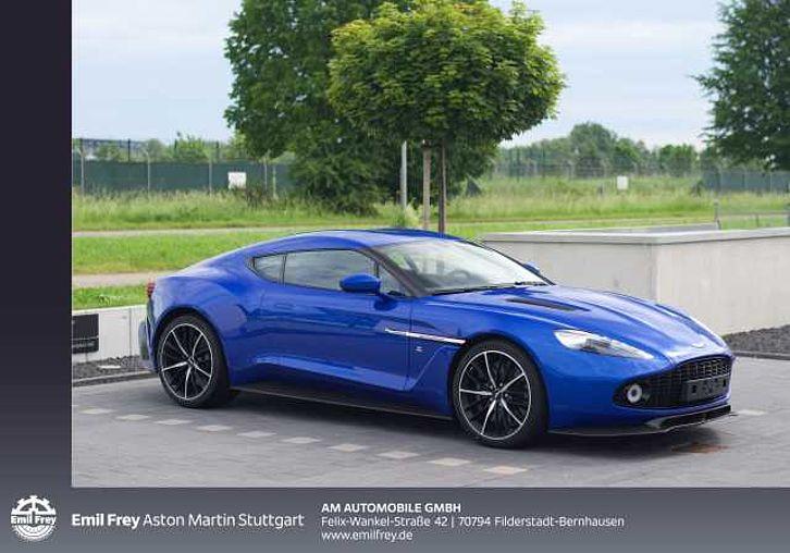 Aston Martin Vanquish Zagato Coupe 1 Of 99 Gebrauchtwagen Stuttgart Filderstadt Coupé Blau Automatik Benzin Ez 08 06 2017 550km 650007 Eur Aston Martin Stuttgart
